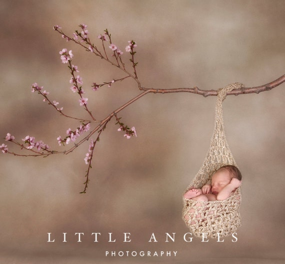 Teeny Tiny Triangles Newborn Stork Sack Crochet Pattern (518)