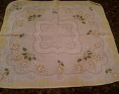 Sweet Yellow Vintage Handkerchief Hankie