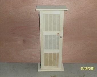 dvd cabinet, tower dvd storage, wood,  wooden, handmade with door, custom made