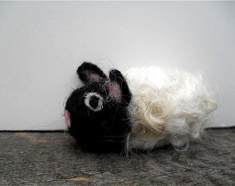cat toy catnip lamb, needle felted