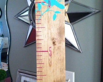 honey stained growth chart