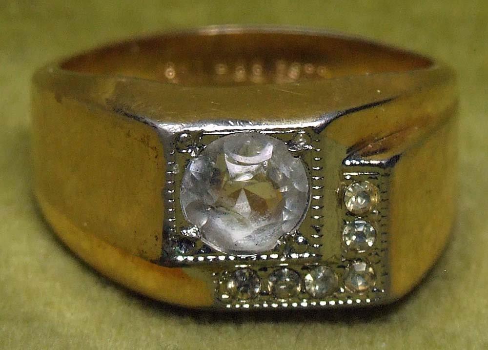 Man S Men S Vintage 18k Gold H G E Espo Diamond Ring