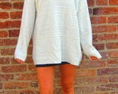 vintage oversized knit sweater (OS) FREE SHIPPING