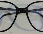 vintage Pelham black eyeglass frames (OS) FREE SHIPPING