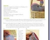 Crafting for Courage Cuddle Bunny PDF Pattern