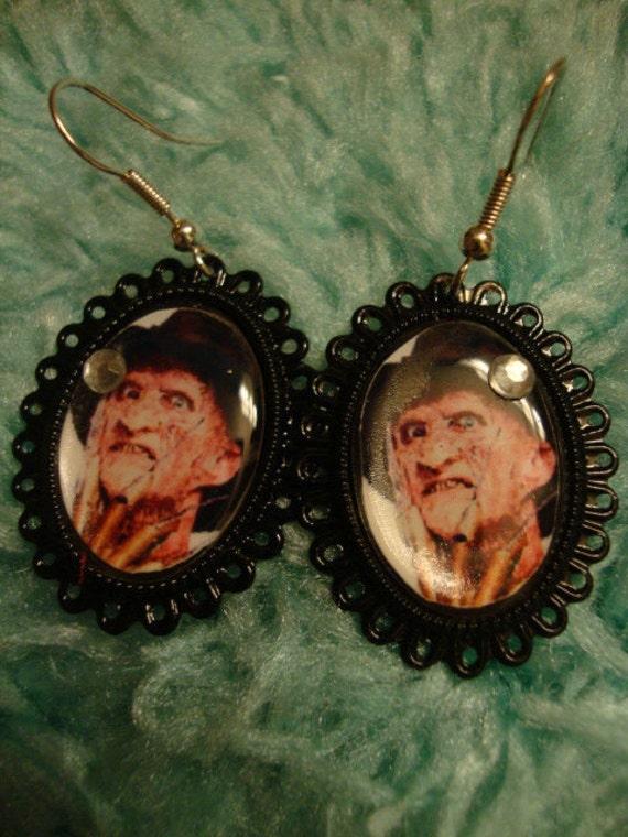 Freddy Krueger Earrings