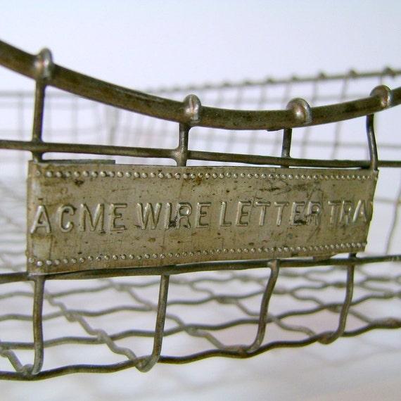 Vintage Letter Tray 87