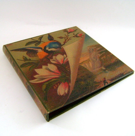 Vintage Photo Album / Scrapbook / Guest book