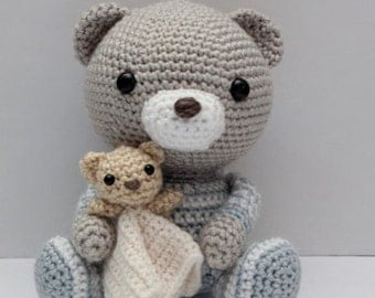Amigurumi Crochet Pattern - Haribo the Bedtime Bear