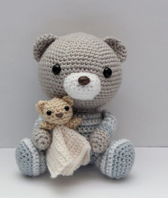 Amigurumi Teddy Bear Pattern : Amigurumi Crochet Pattern Haribo the Bedtime Bear