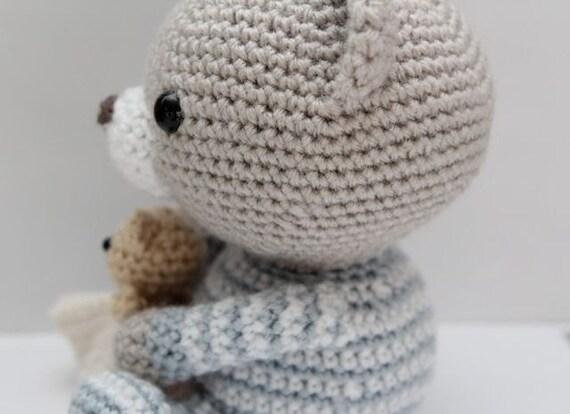 Amigurumi Crochet Pattern - Haribo the Bedtime Bear from ...