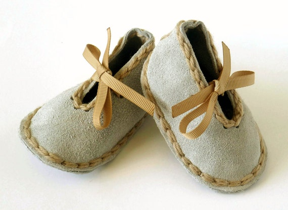 Suede Leather Baby Shoes 0-18 Months