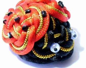 Chinese Knot Ladybug - as Keychain, Phone Charm, Bag Hang or Table Decoration