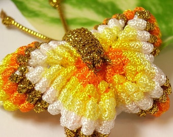 Chinese Knot Rainbow Butterfly - Brooch, Pin