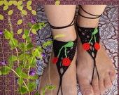 Feet in cherries