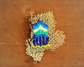 Natural Reef Embroidered Art