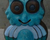 Blue Owl Bank - A Bank Sculpture