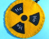 Radiation Sign Ornament