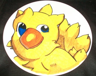 Fun to use Mealtime Anime 10 Inch Collector Plate - Final Fantasy Chocobo
