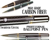 great gift idea Carbon pen fiber   Black high grade carbon fiber ballpoint pen