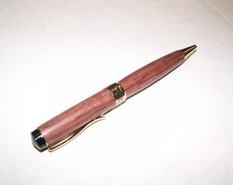 Purpleheart Half Twist Rollerball Pen