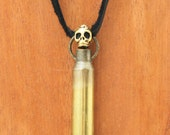 Bullet Skull Necklace