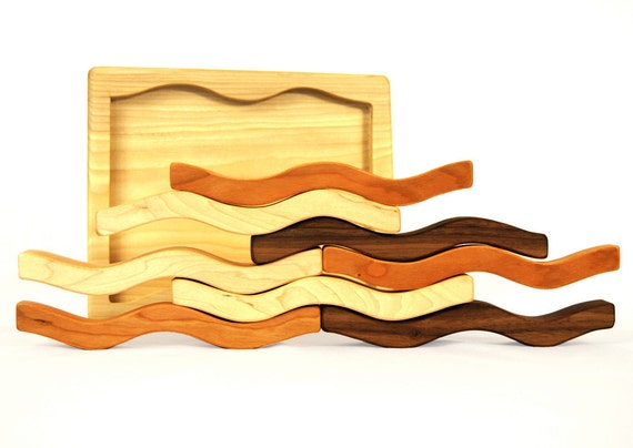 Stacking Toy Puzzles : Items similar to organic wave puzzle and stacking toy