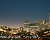 San Francisco Skyline at Night - 8x10