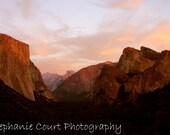 Sunset in Yosemite - 8x10