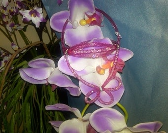 Necklace and bracelet for girl