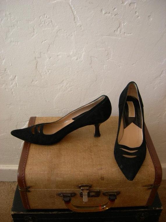 Michael Kors 50s style kitten heels - Size US 7.5 Narrow