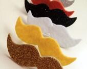 Mustache Beer Markers - Set of Six (Bumblebee)