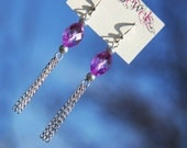 Purple Rain ... Froshjewels original earrings