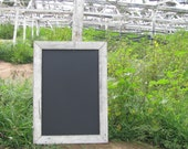 Flower Fields Forever Collection: large magnetic chalkboard 24X36 from reclaimed distressed wood