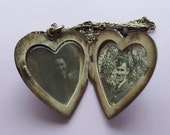 WWII RCAF Sweetheart Locket Sterling Silver