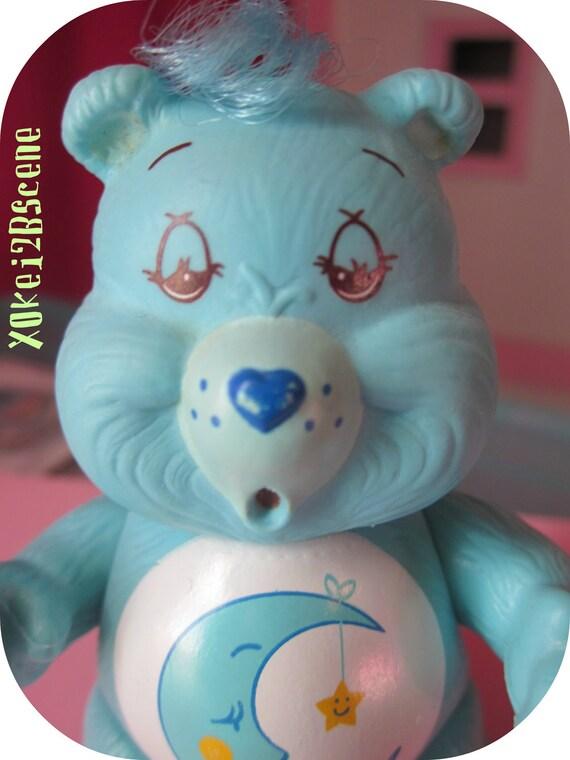 1980s Poseable Care Bears Bedtime Bear