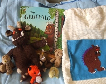 Gruffalo Story Sack, finger puppets excellent  teaching resource