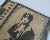 Clara Bow Vinyl Passport Cover