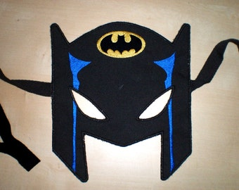 Mask - In the hoop project - machine embroidery applique design - ith INSTANT DOWNLOAD