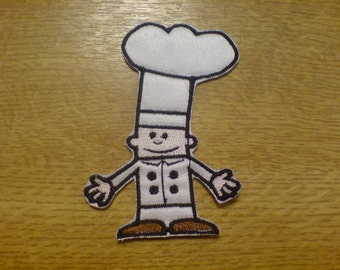 Kitchen Chef - machine embroidery applique designs - multiple sizes for hoop 4x4, 5x7 and 6x10  INSTANT DOWNLOAD