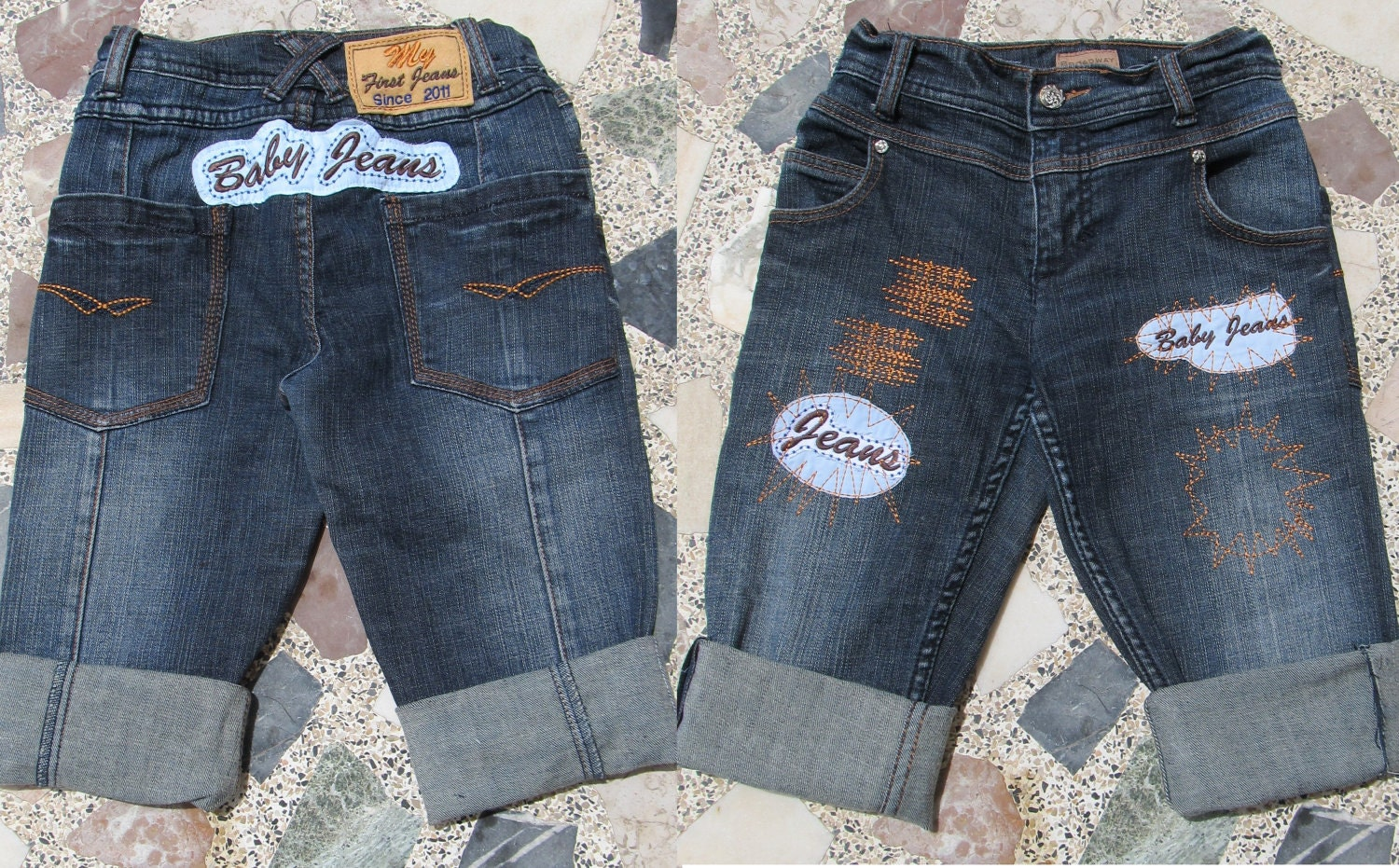 Make cute baby jeans embroidery designs machine embroidery zoom ccuart Gallery