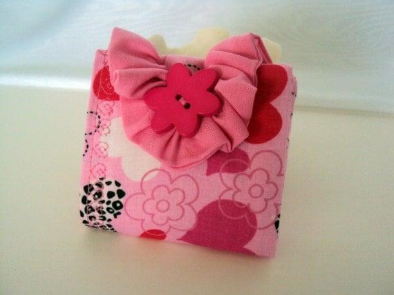 Tea Bag Wallet - My Heart Blooms