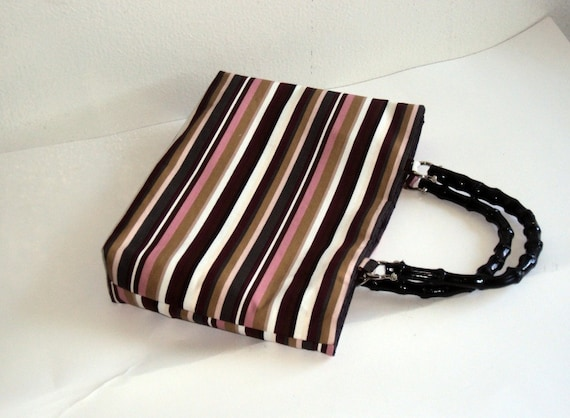 Mauvelous Stripes - The Perfect Summer Bag