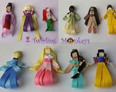 Set of 10 Princesses--Free Shipping Makes a Great Holiday Gift