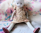 Vintage 1920's Bisque Doll-Paige Bob Baby