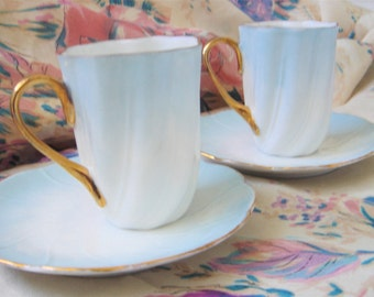 Antique Porcelain Cups-Germany