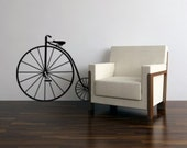 Vintage Bicycle vinyl wall decal, 22 inches