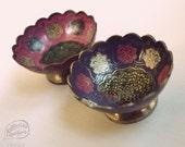 Chai Peacock (Brass Bowl)