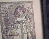 Automne (Framed Art Nouveau Print )