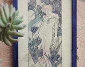 Iris (Framed Art Nouveau Print)
